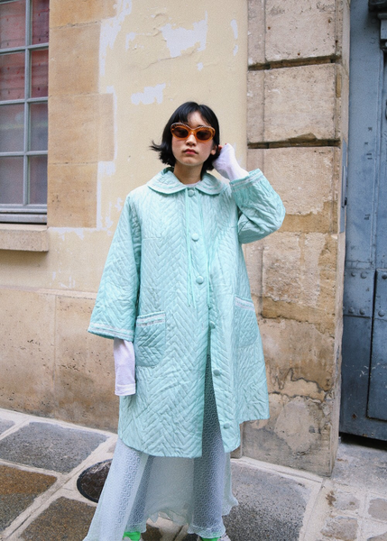 CANDY MINT PAJAMA JACKET