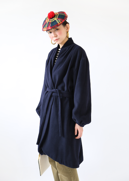 CASHMERE DRAPED COAT