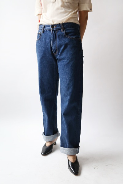 DARK BLUE STRAIGHT JEANS(usa)