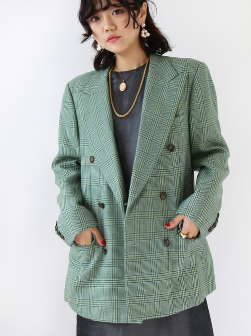 MINT DOUBLE BREASTED JACKET
