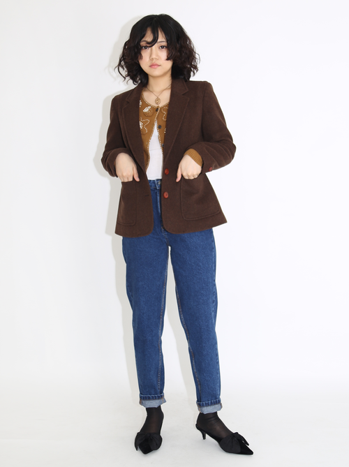 BROWN COOKIE JACKET
