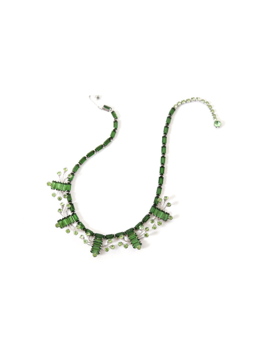 1950'S SPRING GREEN NECKLACE