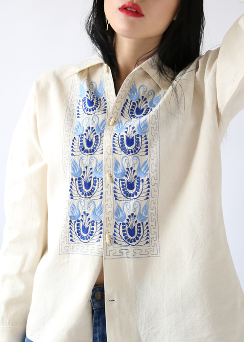 EMBROIDERED MEXICAN TUNIC