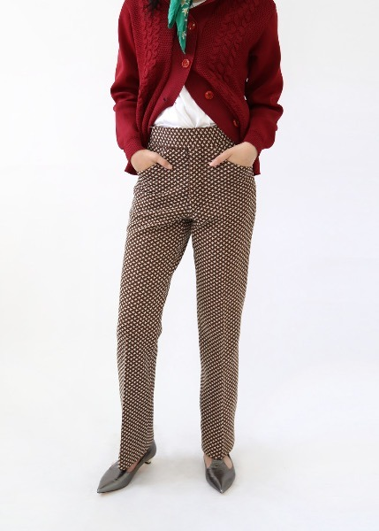 1970'S PRINTED TROUSERS