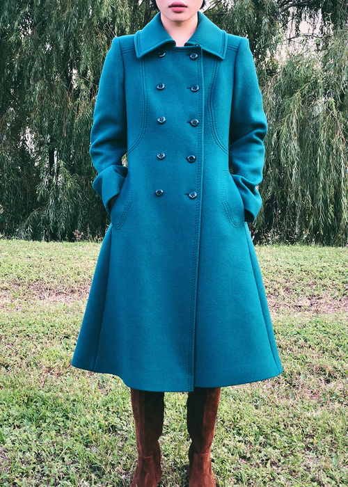 1970'S BOUTIQUE WOOL COAT