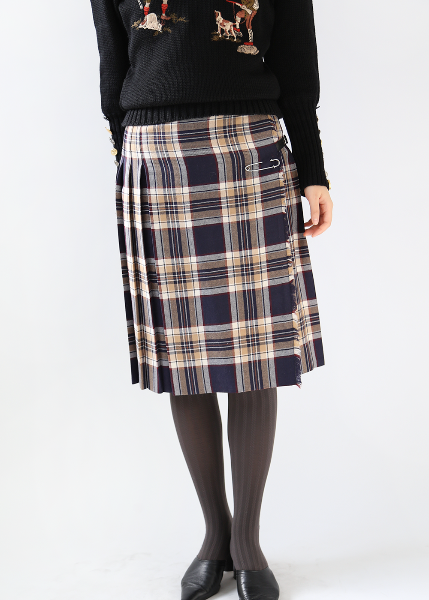 SCOTTISH PURE WOOL SKIRT