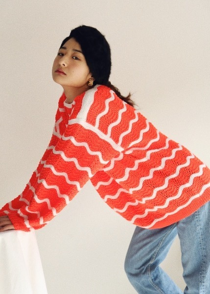 NIMO ORANGE SWEATER