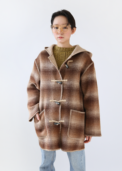 BROWN DUFFLE COAT