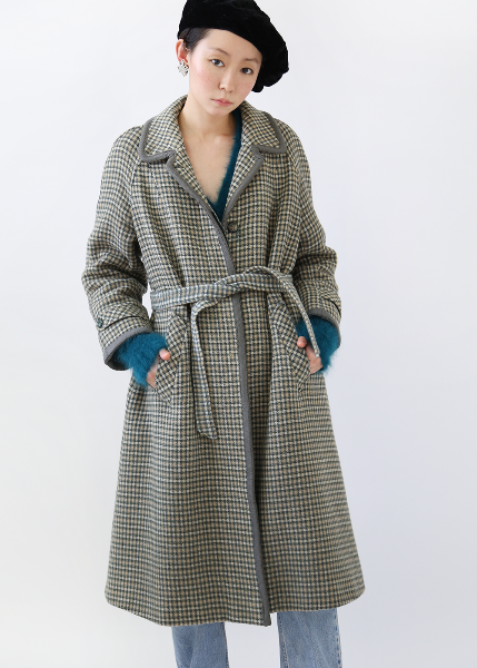 1970'S FRENCH PURE WOOL COAT