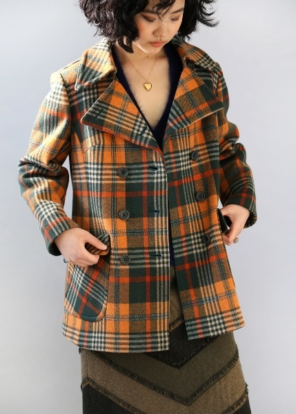 1970'S DOUBLE BREASTED COAT