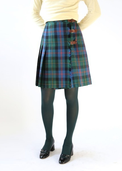 SCOTTISH STYLE TARTAN CHECK SKIRT
