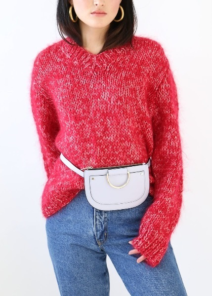 CHERRY PINK SWEATER