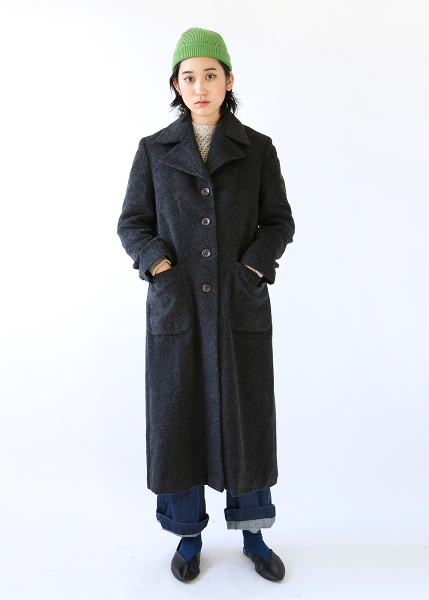 MODERN GRAY LONG COAT