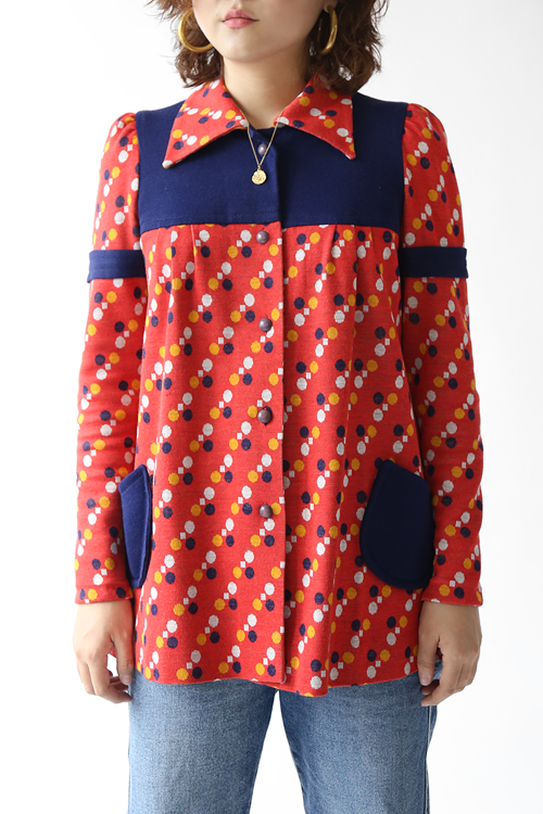 1960'S SWINGING DOTS JACKET