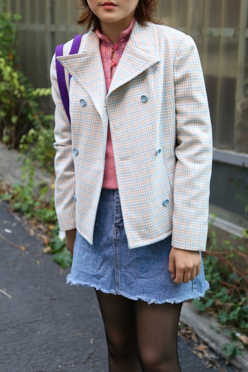 1960'S DOUBLE CROPPED JACKET