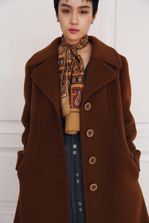 MARIANNE WOOL COAT(Camel)