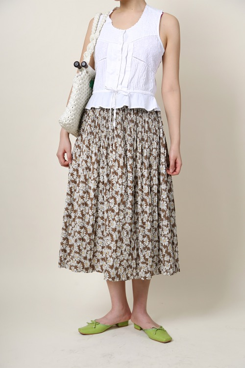 DANDELION PLEATS SKIRT