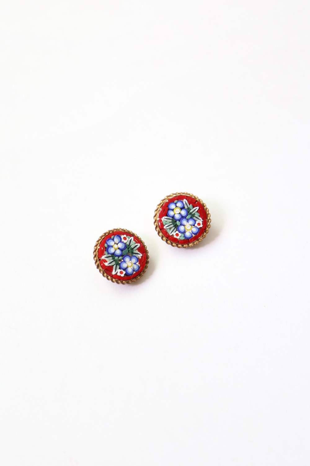 ITALIAN MOSAIC EARRINGS