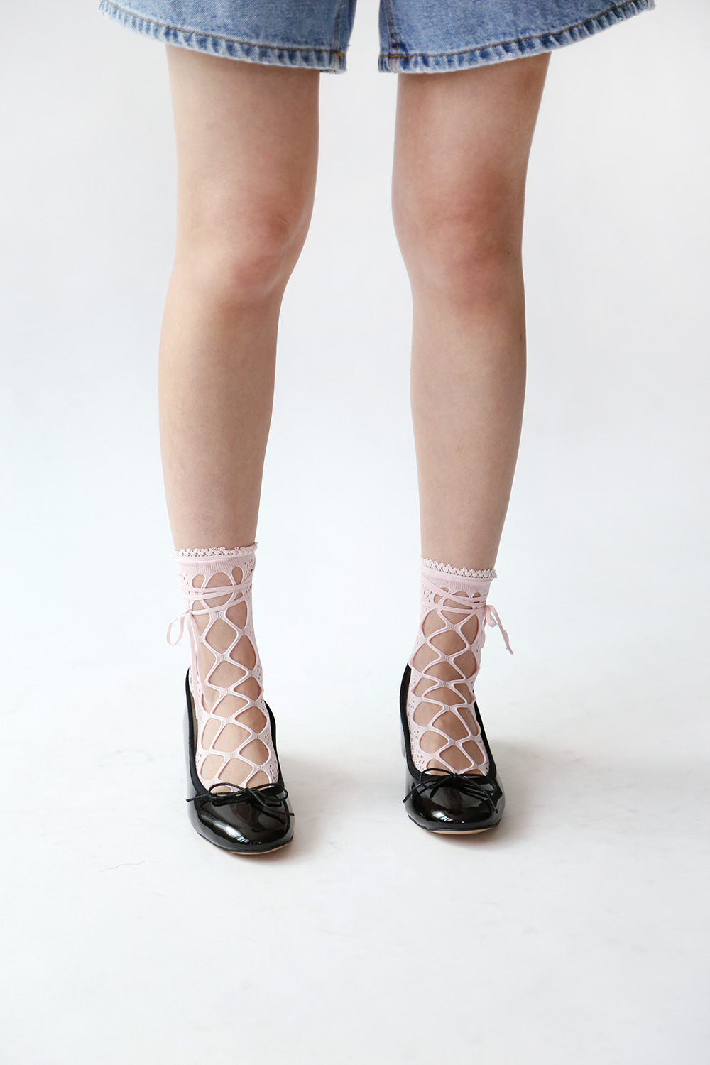 RIBBON LACE SOCKS (4colors!)